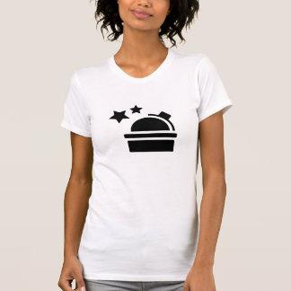T-shirt de pictogramme d'astronomie