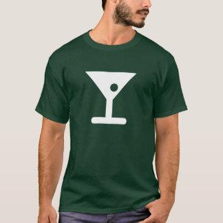 T-shirt de pictogramme de Martini