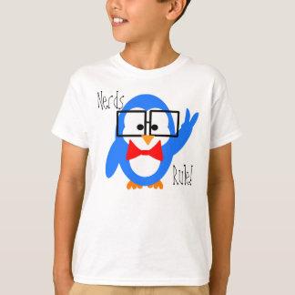 T-shirt de pingouin de règle de ballots