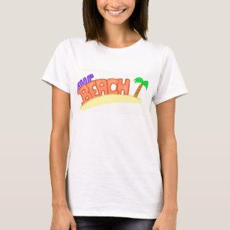 T-shirt de plage de petite gorgée