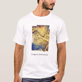 T-shirt de plan de Mawson