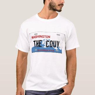 T-shirt de plaque minéralogique de Washington