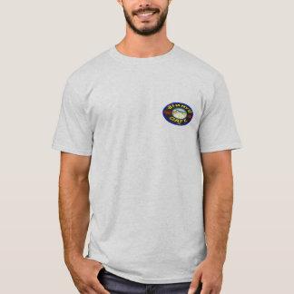 T-shirt de poids lourd de café du bord de la route