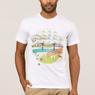 T-shirt de Portland de pont de Broadway
