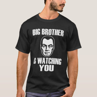 T-shirt de portrait de frère