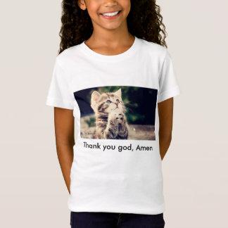 T-shirt de prière de Kitty