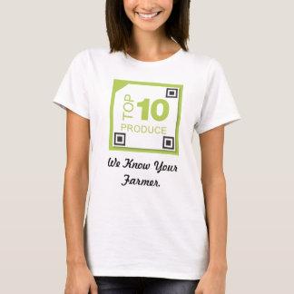 T-shirt de produits organiques de Naylor