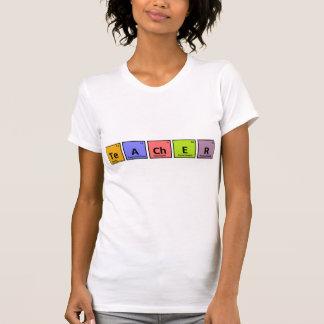 T-shirt de professeur de Tableau périodique