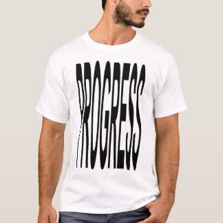 T-shirt de progrès