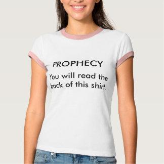 T-shirt de prophétie