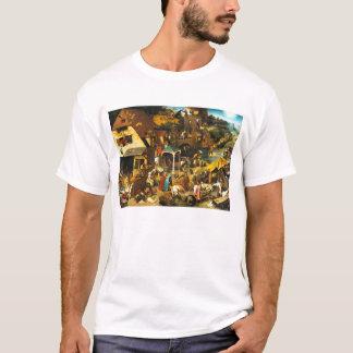 T-shirt de proverbes de Pieter Bruegel