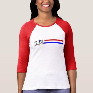 """T-shirt de raglan de 3/4-Sleeve de BOPI """"G.I."""