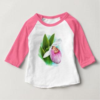 T-shirt de raglan de bébé