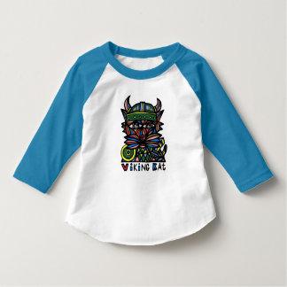 """T-shirt de raglan d'enfant en bas âge de """"Viking"""