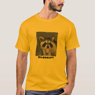T-shirt de raton laveur - #1037