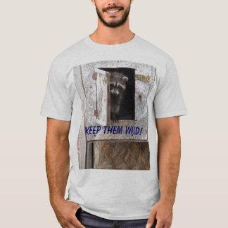 T-shirt de raton laveur de bébé