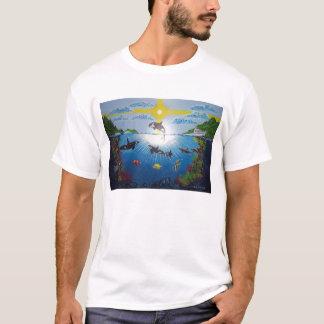 T-shirt de récif d'orque