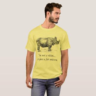 """T-shirt de rhinocéros de """"grosse licorne"""""""