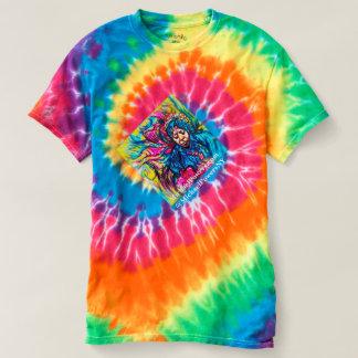 T-shirt de ROTATION de Ti-colorant des années 70