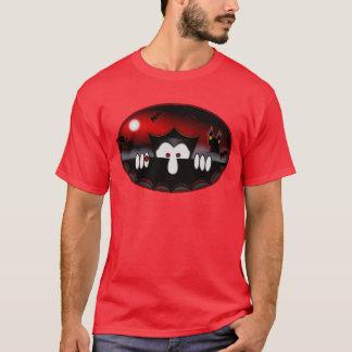 T-shirt de rouge de Kilroy de vampire