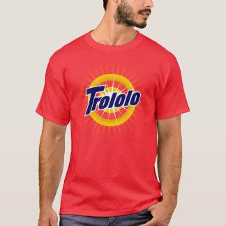 T-shirt de rouge de Trololo
