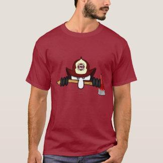 T-shirt de rouge d'icône de Kilroy de
