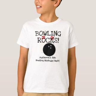 T-shirt de roulement customisé d'anniversaire