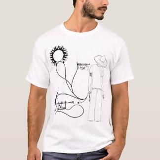 T-shirt de rue de tapis