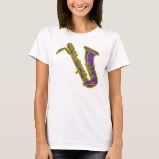 T-shirt de saxophone de baryton