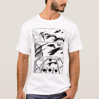 T-shirt de SciFi de story-board