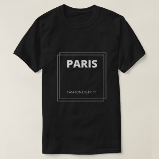 T-shirt de secteur de mode de Paris, France