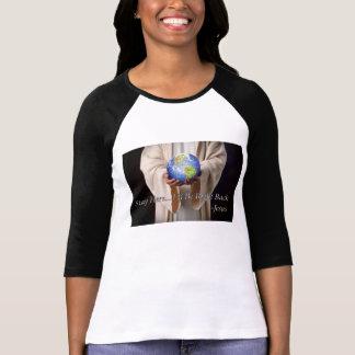 T-shirt De séjour chemise de Jésus ici