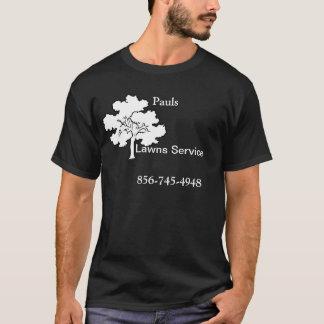 T-shirt de service de pelouse