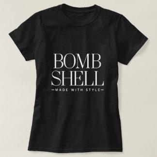 T-shirt de Shell de bombe