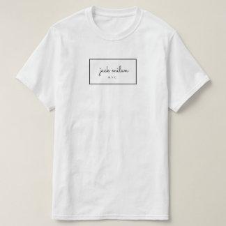 T-shirt de signature de Jack Milan