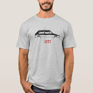 T-shirt de silhouette de GTI MKI