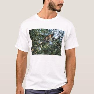 T-shirt de singe de buse
