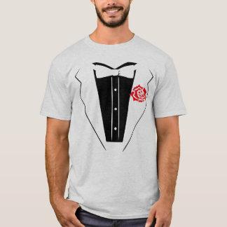 T-shirt de smoking - chemise légère