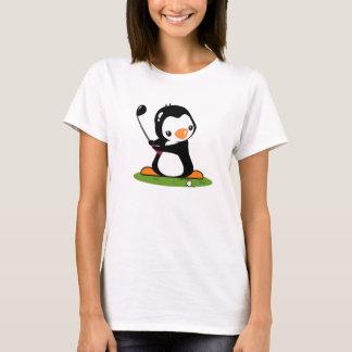 T-shirt de sonnerie de dames de golf