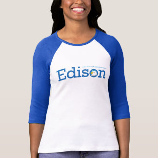 T-shirt de sonnerie de dames d'Edison
