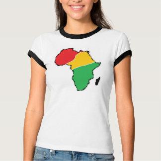T-shirt de sonnerie de mélange de dames