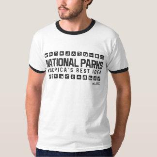 T-shirt de sonnerie des parcs nationaux de
