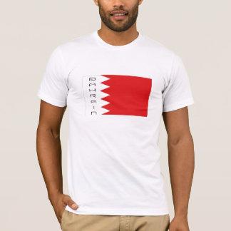 T-shirt de souvenir de drapeau du Bahrain