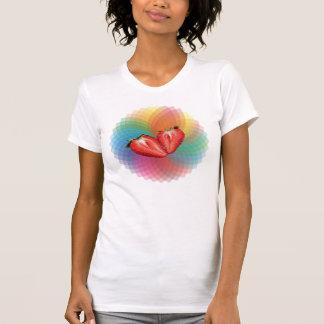 T-shirt de spectre de fraise