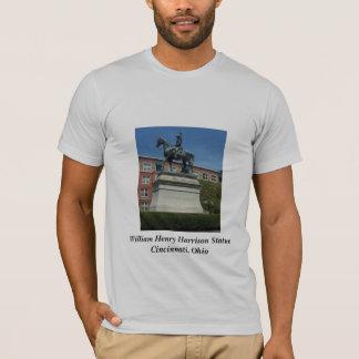 T-shirt de statue de William Henry Harrison