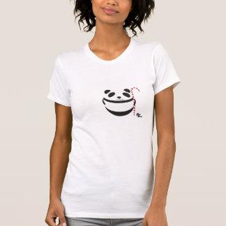 T-shirt de sucre de canne de panda