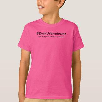 T-shirt de syndrome de Down