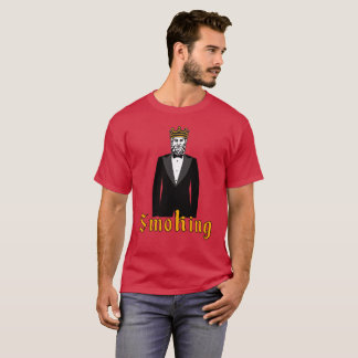 T-shirt de tabagisme de smoking
