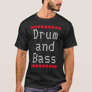 """T-shirt de """"tambour et de basse"""""""