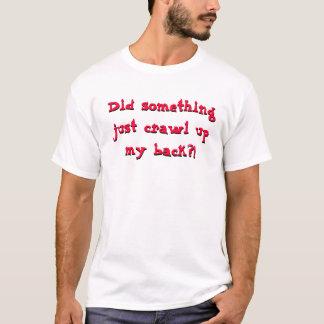 T-shirt de tarentule